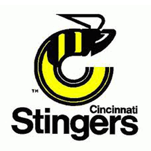 Cincinnati Stingers logo from 1976-1979
