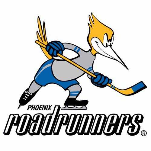 Phoenix Roadrunners logo from 1975-1977