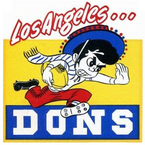 Los Angeles Dons logo from 1946-