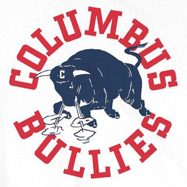 Columbus Bullies logo from 1939-