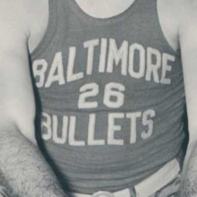 Baltimore Bullets logo from 1945-1947