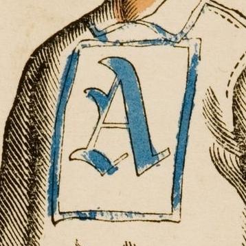 Brooklyn Atlantics logo from 1868-1875