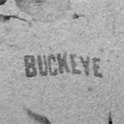 Cincinnati Buckeye logo from 1867-1868