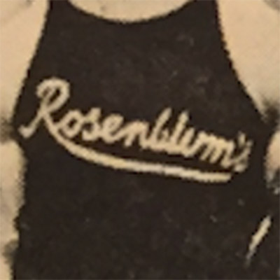 Cleveland Rosenblums logo from 1926-1931