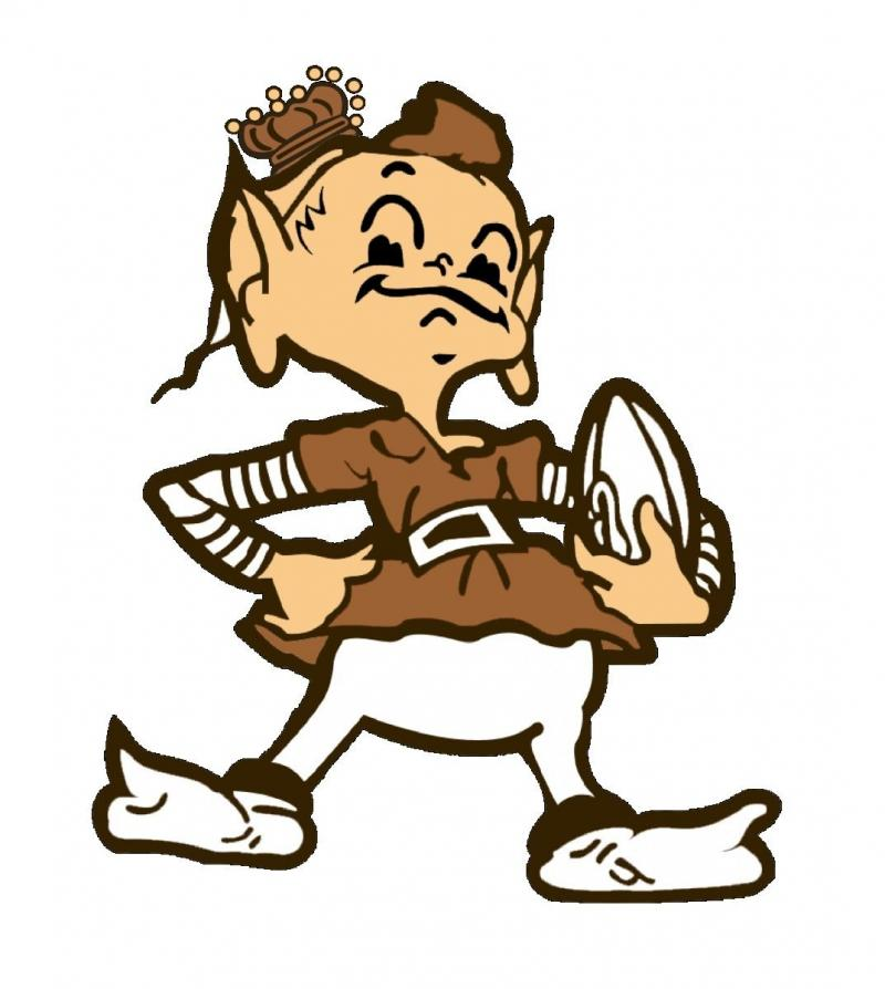 Cleveland Browns logo from 1946-1958