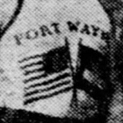 Fort Wayne Hoosiers logo from 1928-1933