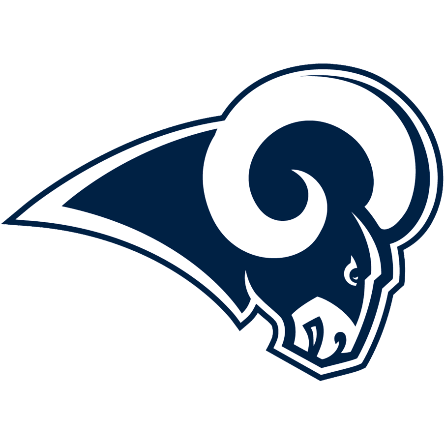 Los Angeles Rams logo from 2017-2019