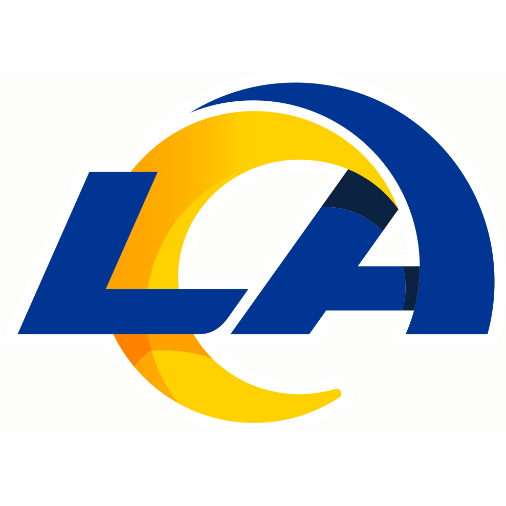 Los Angeles Rams logo from 2020-