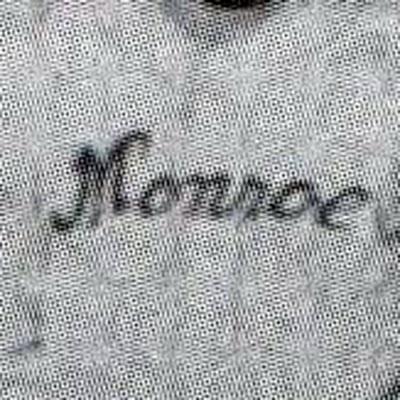 Monroe Monarchs logo from 1932-1932