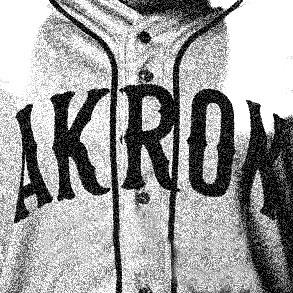Akron Black Tyrites logo from 1933-1933