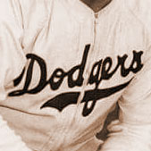 Brooklyn Brown Dodgers logo from 1945-1946