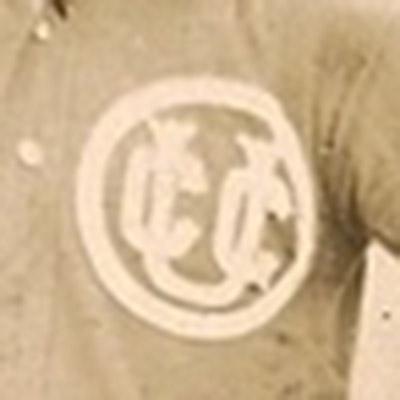 Chicago Leland Giants logo from 1901-1904
