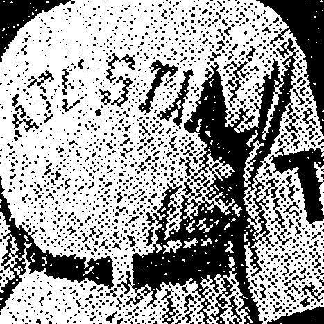 Cleveland Tate Stars logo from 1919-1923