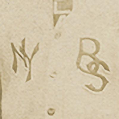 New York Black Sox logo from 1910-1910