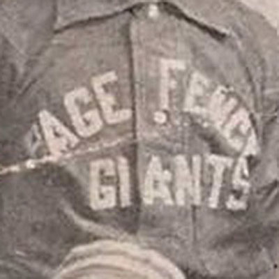 Columbia Giants logo from 1895-1898