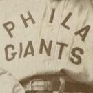 Philadelphia Giants logo from 1907-1911