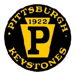 Pittsburgh Keystones logo from 1921-1922