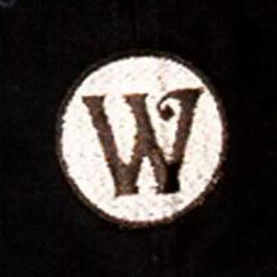 Washington Black Senators logo from 1938-1938
