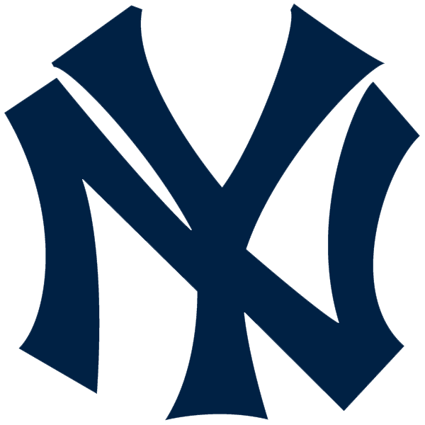 New York Yankees logo from 1915-1946