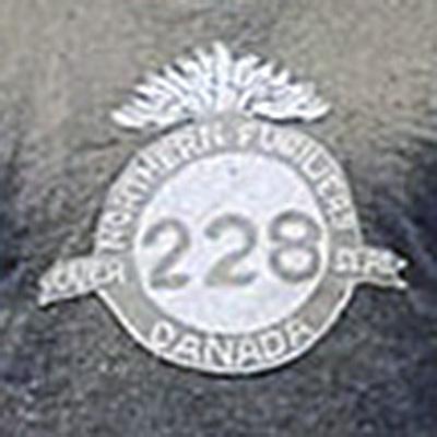 Toronto 228th Battalion logo from 1917-1917