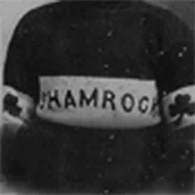 Winnipeg Shamrocks logo from 1909-1909