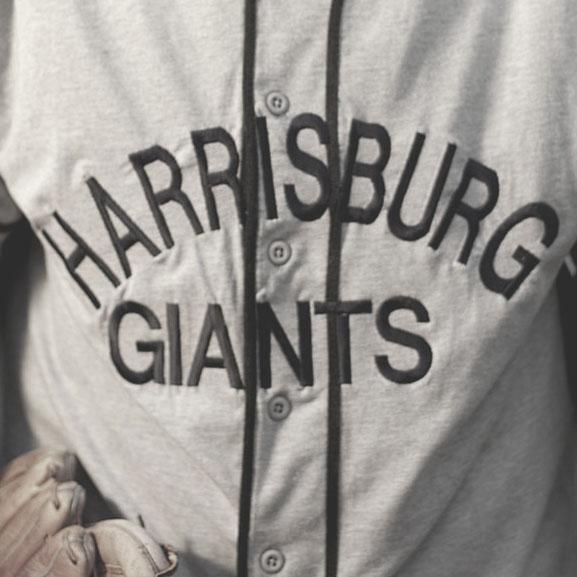 Harrisburg Giants logo from 1922-1927