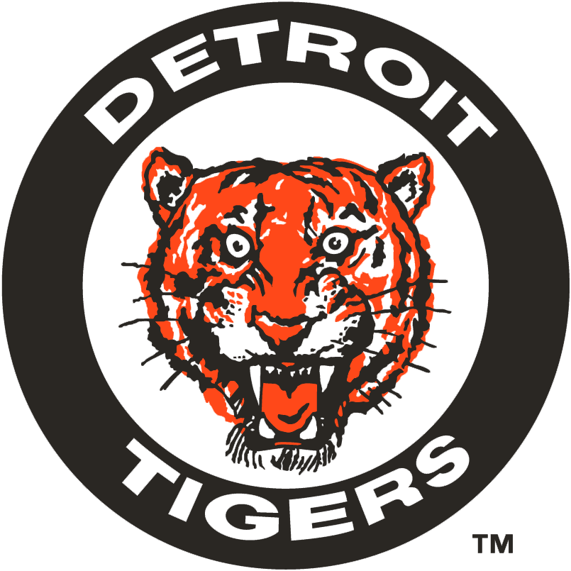 Detroit Tigers logo from 1961-1963