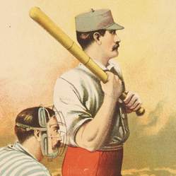 Boston Reds logo from 1884-