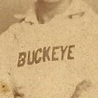 Columbus Buckeyes logo from 1883-