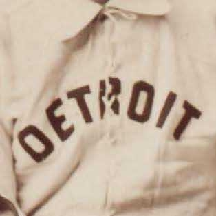 Detroit Wolverines logo from 1881-1886