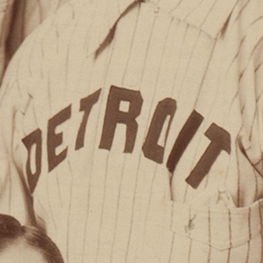 Detroit Wolverines logo from 1887-