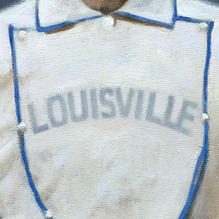 Louisville Grays logo from 1876-