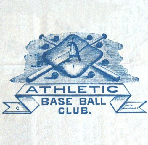 Philadelphia Athletics logo from 1882-