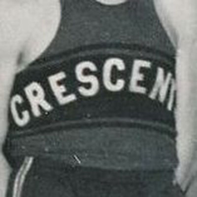 Paterson Crescents logo from 1910-1931