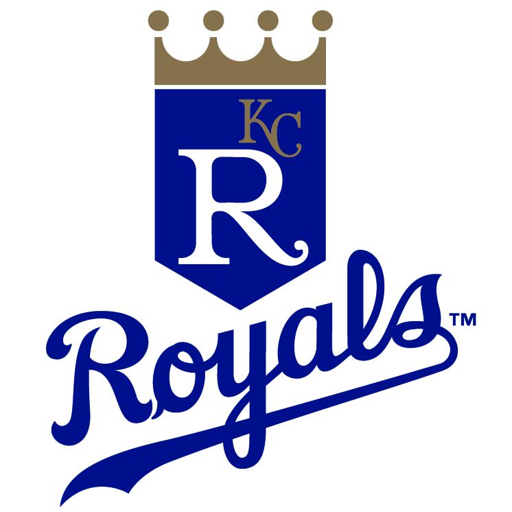 Kansas City Royals logo from 1993-2001