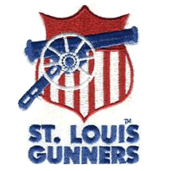 St. Louis Gunners logo from 1934-