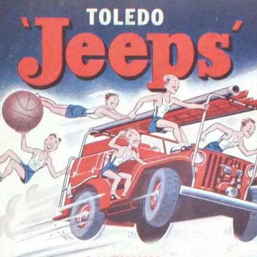 Toledo Jeeps logo from 1946-1948
