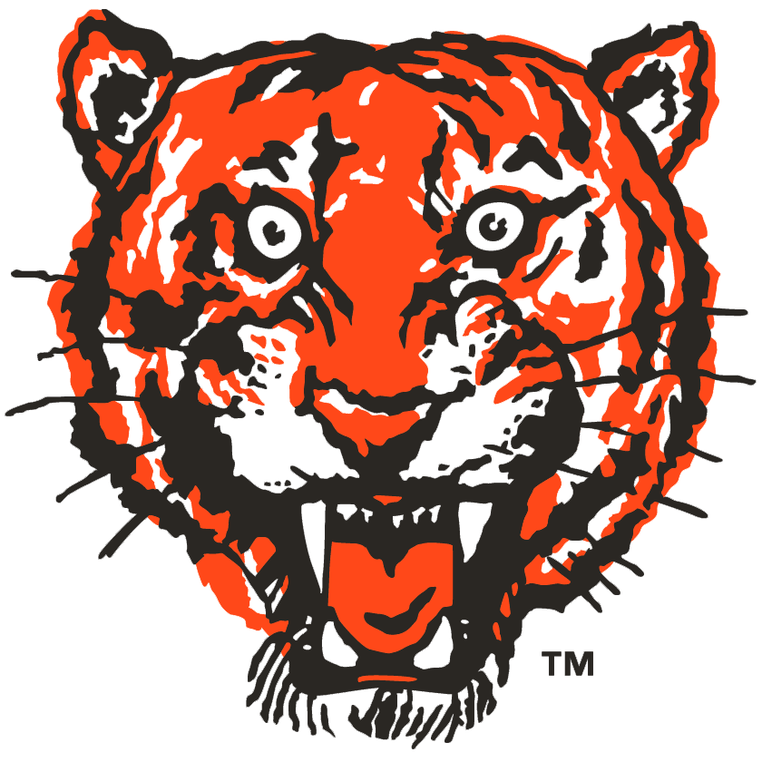 Detroit Tigers logo from 1957-1960