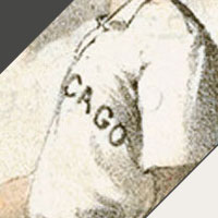 Chicago Pirates logo from 1890-