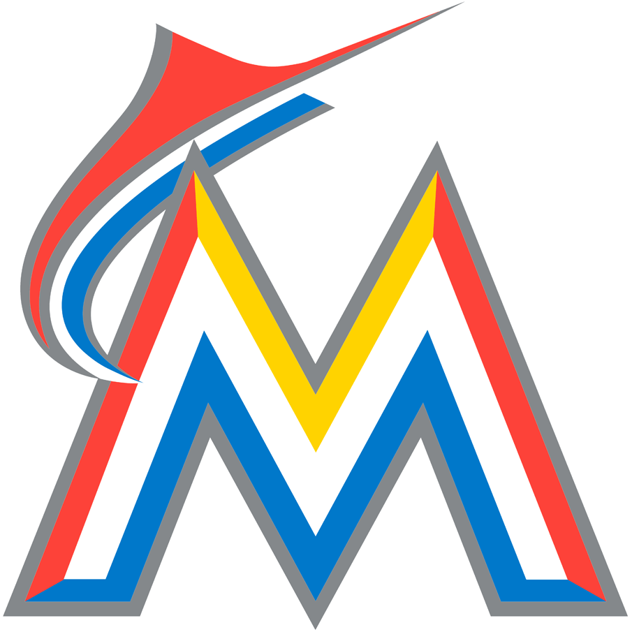 Miami Marlins logo from 2017-2018