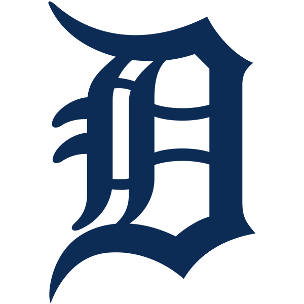 Detroit Tigers logo from 2016-
