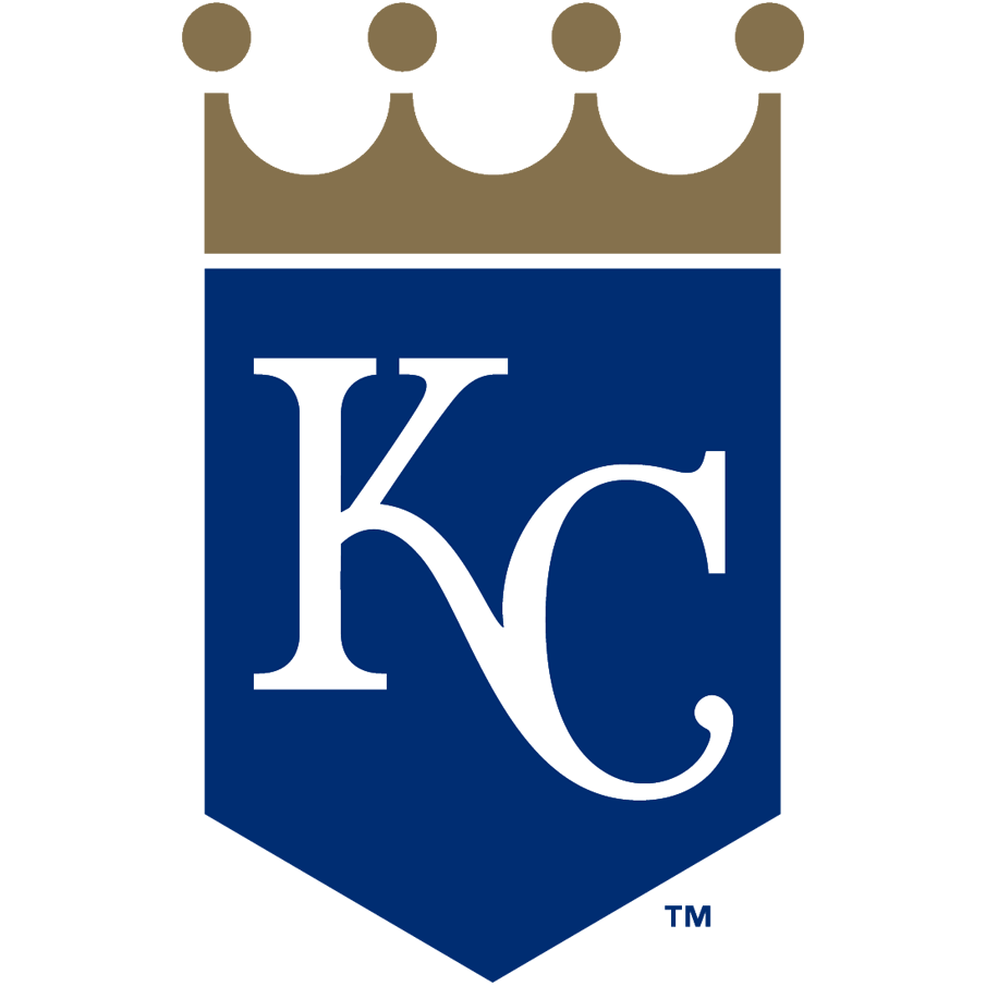 Kansas City Royals logo from 2019-