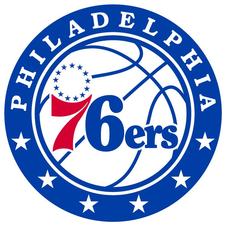 Philadelphia 76ers logo from 2016-
