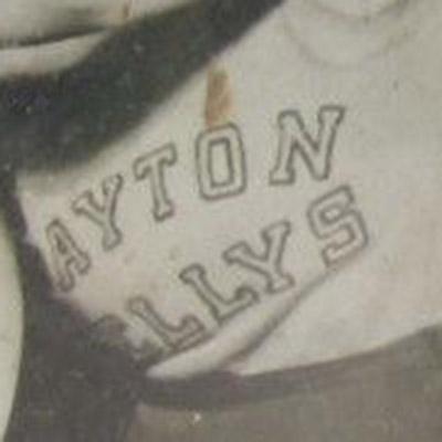 Dayton Kellys logo from 1930-