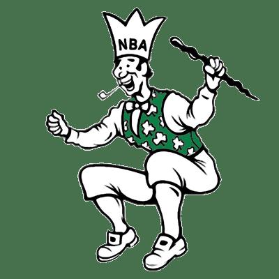 Boston Celtics logo from 1951-1960