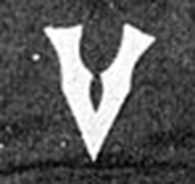 Montreal Victorias logo from 1902-1908