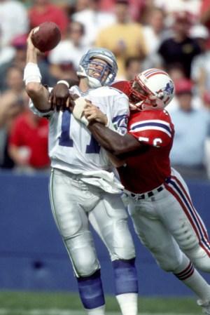 1991 New England Patriots Season