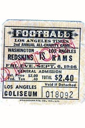 1946 Washington Redskins Season