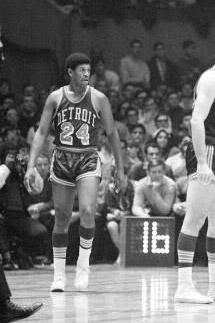 1967 Detroit Pistons Season