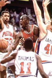 1991 Detroit Pistons Season